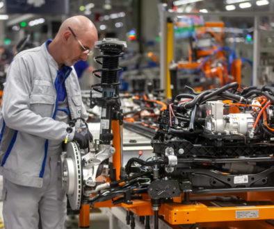 Volkswagen factory in Zwickau