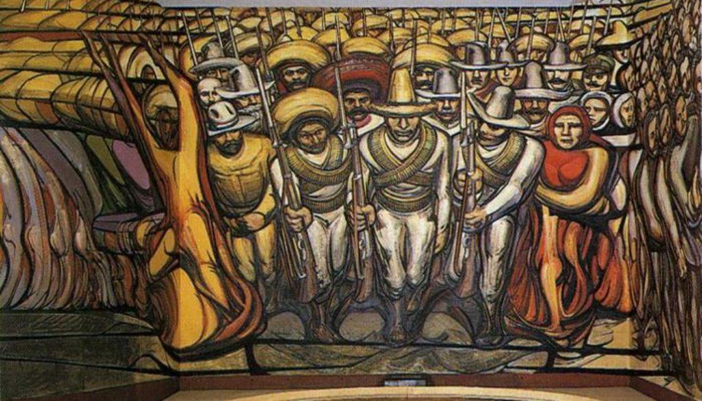 siqueiros the-revolution-mural Σικέιρος